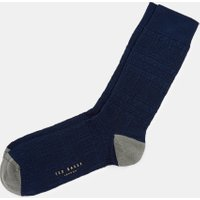 Textured Cotton Socks