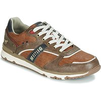 Mustang  4095317-398  men's Shoes (Trainers) in Brown