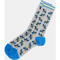 Bee Print Cotton Socks