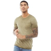JACK AND JONES Mens Jack Short Sleeve Crew Neck T-Shirt Olive Night