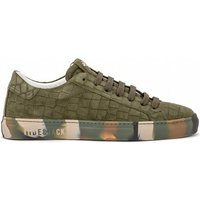 Hide jack  Special Croco green suede and camouflage sneaker  men's Shoes (Trainers) in Green