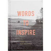 kikki.K Words To Inspire Book, Inspiration