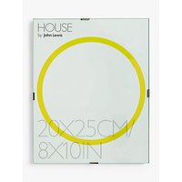 House by John Lewis Glass Clip Photo Frame, 8 x 10 (20 x 25cm)