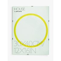 House by John Lewis Glass Clip Photo Frame, 12 x 16 (30 x 40cm)
