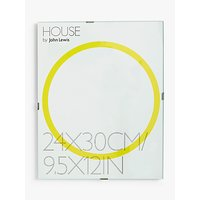 House by John Lewis Glass Clip Photo Frame, 10 x 12 (24 x 30cm)