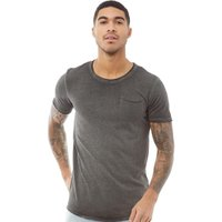 JACK AND JONES Mens Jack Short Sleeve Crew Neck T-Shirt Black