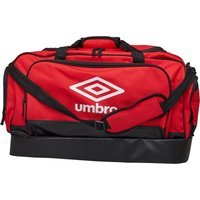 Umbro Medium Hardbase Holdall Red/Black/White