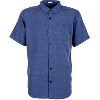 Columbia  MOSSY TRAIL  men's Short sleeved Shirt in Blue