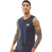 JACK AND JONES Mens Anything Chest Tank Top Total Eclipse