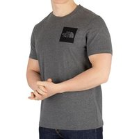The North Face  Men's Fine T-Shirt, Grey  men's T shirt in Grey