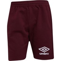 Umbro Mens Active Style Jog Shorts Port/White