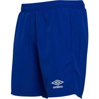 Umbro Mens Active Style Woven Core Shorts Deep Surf/White