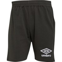 Umbro Mens Active Style Jog Shorts Olive Night/White