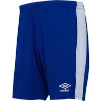 Umbro Mens Active Style Poly Shorts Deep Surf/White