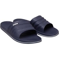 Fluid Mens Sliders Navy
