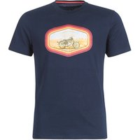 Oxbow  L1THANE  men's T shirt in Blue