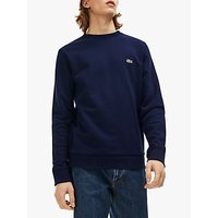 Lacoste Crew Neck Sweatshirt, Navy