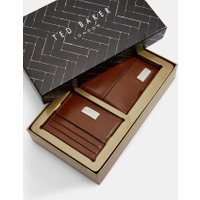 Leather Wallet And Cardholder Gift Set