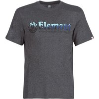 Element  GLIMPSE HORIZONTAL SS  men's T shirt in Grey