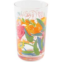 Anthropologie Bridgette Thornton Floral Glass 3, 211ml, Multi