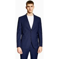 Mens Blue Two Tone Skinny Blazer, Blue
