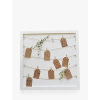 Ginger Ray Guest Book Pegs & String