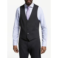 John Lewis & Partners Seasonless Tailored Waistcoat, Black