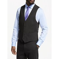 John Lewis & Partners Seasonless Tailored Waistcoat, Dark Grey