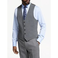 John Lewis & Partners Seasonless Tailored Waistcoat, Mid Grey