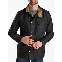 Barbour Land Rover Defender Waxed Jacket, Admiralty Blue