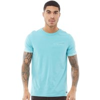 Fluid Mens Mens With Cuff/pocket Trim Aqua Sea