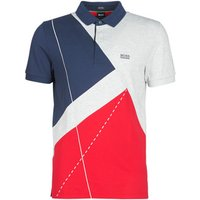 BOSS Athleisure  PADDY 6  men's Polo shirt in Multicolour