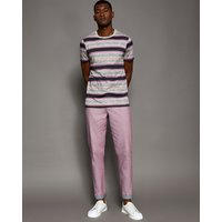 Classic Fit Textured Chinos