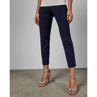 Side Zip Skinny Trousers