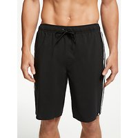 adidas 3-Stripe Swim Shorts, Core Black