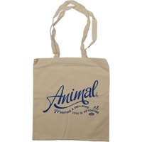 Animal Womens Script Tote Bag Natural