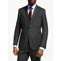 John Lewis & Partners Birdseye Wool Slim Fit Suit Jacket, Charcoal