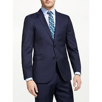 John Lewis & Partners Fine Stripe Tailored Suit Jacket, Navy