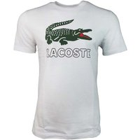 Lacoste  Large Croc Tee  men's T shirt in White