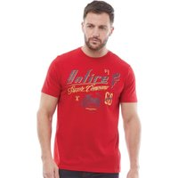 Onfire Mens Printed T-Shirt Red