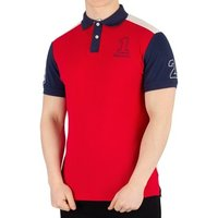 Hackett  Men's Archive 1234 Poloshirt, Red  men's Polo shirt in Red
