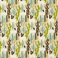 Prestigious Textiles Llama Cactus PVC Table Covering Fabric, Multi