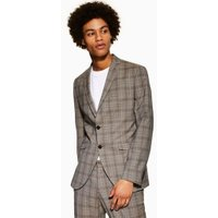Mens Selected Homme Grey Blazer, Grey