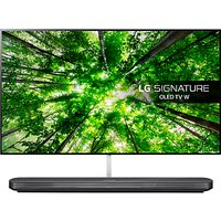 LG OLED65W8PLA Signature OLED HDR 4K Ultra HD Smart TV, 65 with Freeview Play/Freesat HD, Picture-On