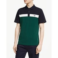 Fred Perry Contrast Pannel Short Sleeve Polo Shirt