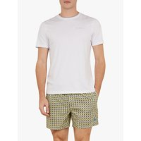 Ted Baker Hermit Patterned Swim Shorts