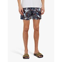 Ted Baker Coastal Swim Shorts, Teal Blue
