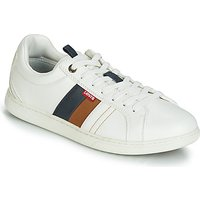 Levis  TULARE  men's Shoes (Trainers) in White