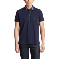 Diesel  - Men's  Cotton Polo T-SERPICO  men's Polo shirt in Blue