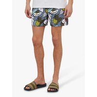 Ted Baker Orca Swim Shorts, Mid Blue